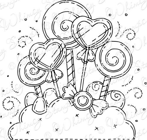 Candyland Printable Coloring Pages