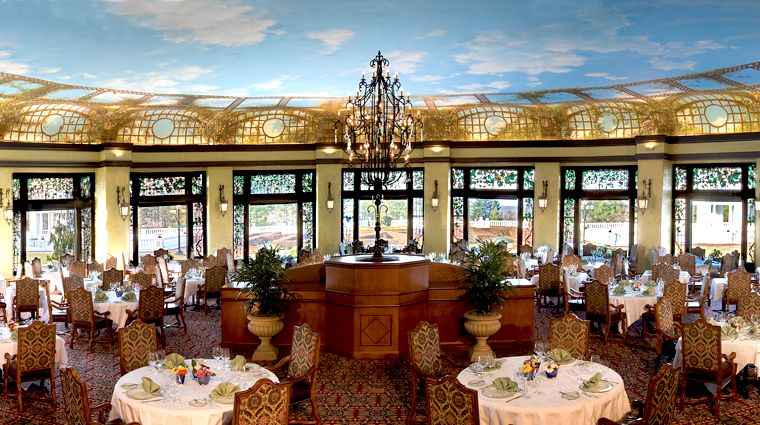 Enjoy A Delicious Lunch In The Elegant Circular Dining Room At The Hotel Hershey Circular Dining Room Fall Foliage Tour Fine Dining Room