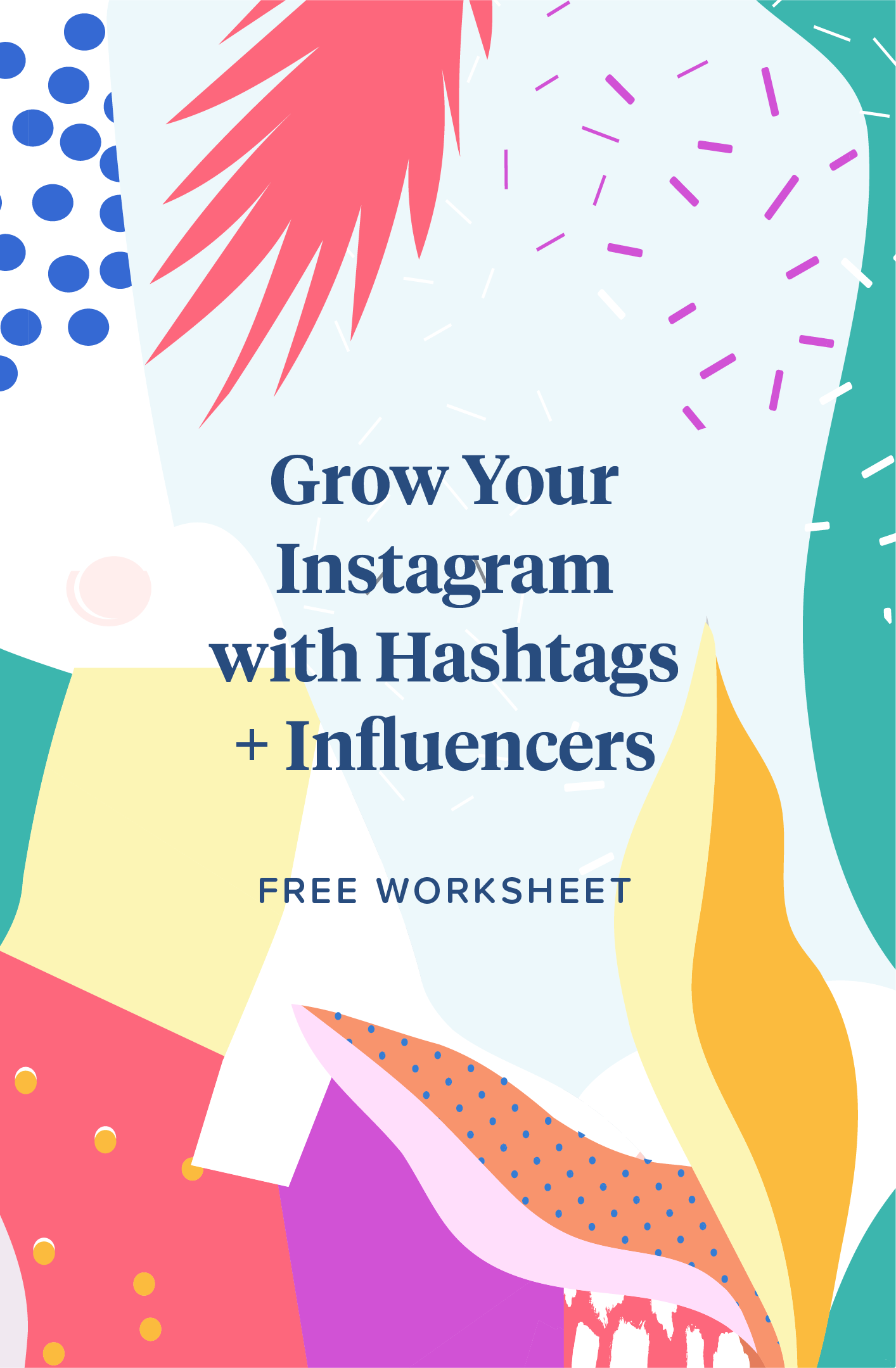 Hashtag And Influencer List Template