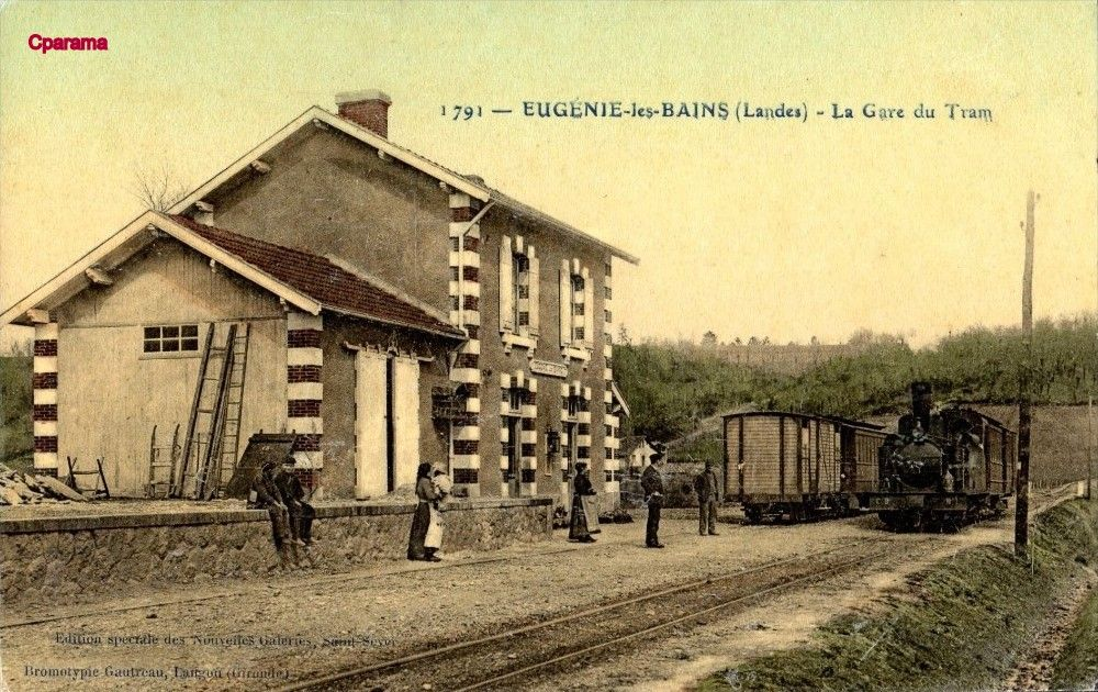 Eugenie Les Bains Landes Landes Carte Postale Postale