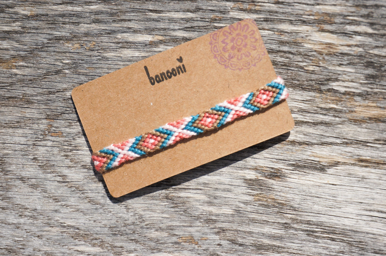 Friendship bracelet unisex bracelet threaded bracelet