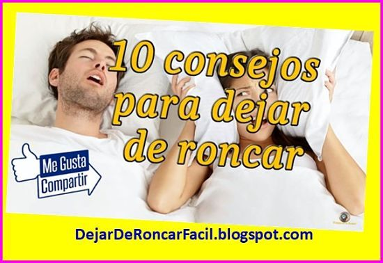 Dejar de Roncar Hoy - Dejar de Roncar Hoy de Pablo Villaverde para dejar de roncar hoy mismo