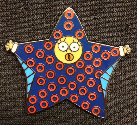Maggie Simpson's SnoWing-Suit Pin Phish Fishman By