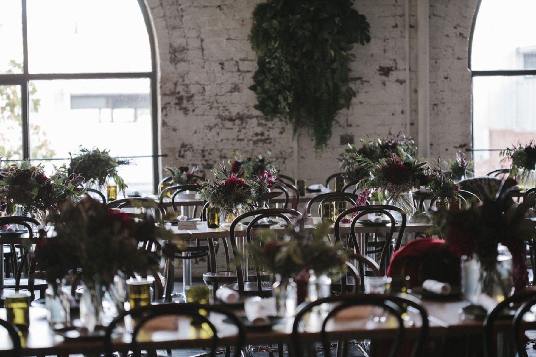 Moody Evening Wedding At Fitzroy's Panama Dining Room  Wedding Pleasing Panama Dining Room Decorating Inspiration