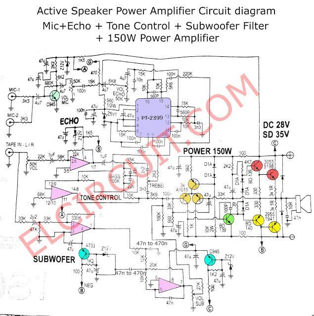 Active Speaker Power Amplifier