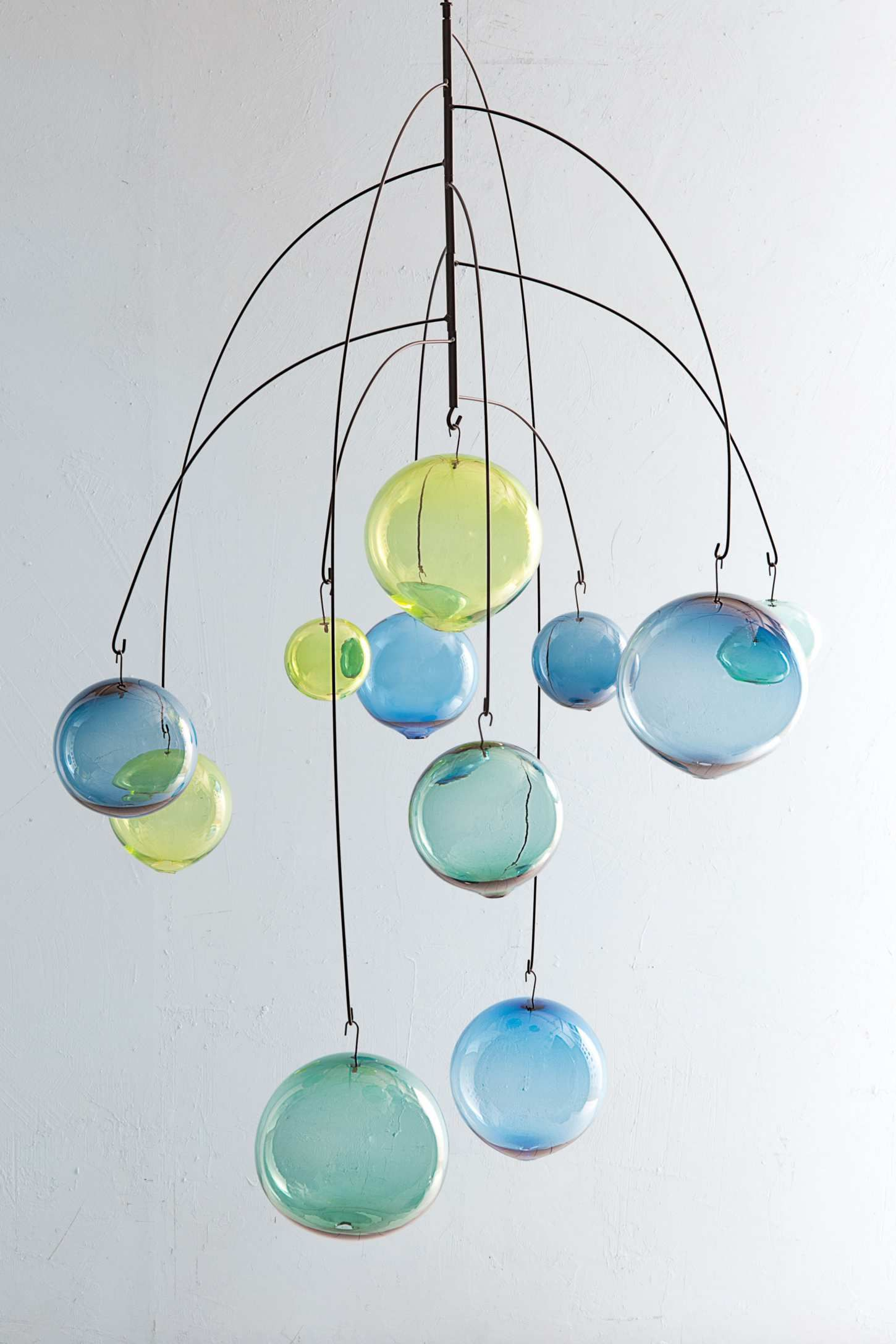 Czech blown glass mobile | Beautiful & Fragile | Pinterest | Glass