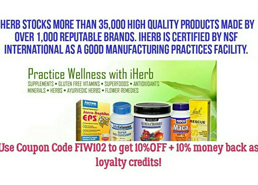 """Applying the iHerb coupon code is easy.  Click herehttp://www.iherb.com?rcode=FIW102to activate your discount.  The10%OFF + 10% money back as loyalty creditssaving should be activated  To make sure of this, add your items or at least one item to the shopping cart. Click shopping cart-button.  Before total sum you'll find """"Apply Rewards Code or #Promo Code"""" field. Insert FIW102 and press""""Apply"""".   #iherb #coupon #supplements #promo #health #stayfit"""