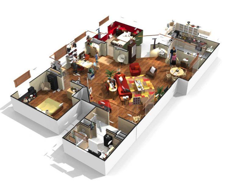 homebyme-logiciel-architecture-3d jardin pour Toulouser - logiciel de plan de maison 3d gratuit
