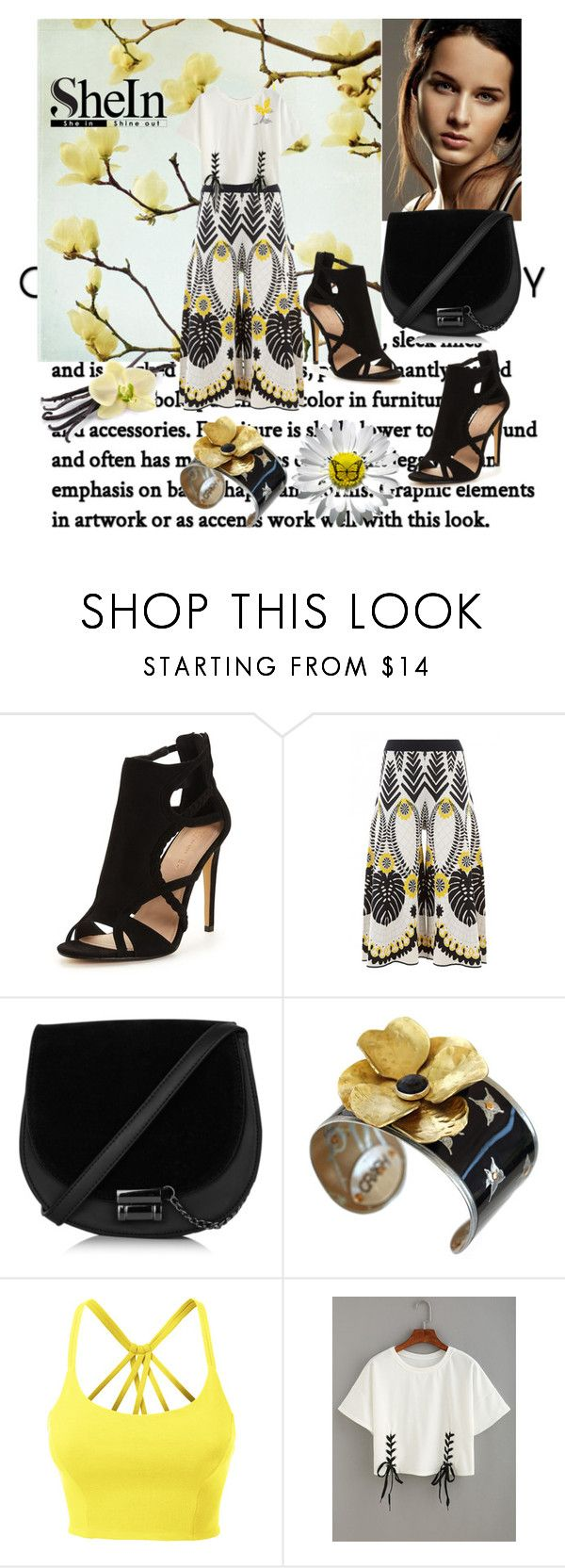 """Shein"" by vaslida ❤ liked on Polyvore featuring Temperley London, Maserati, LE3NO and Marni"