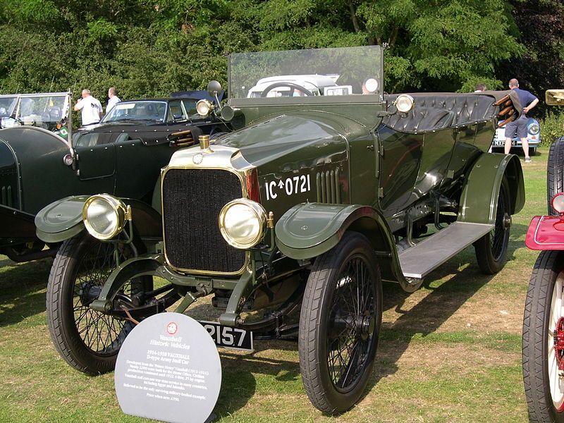 Vauxhall D-type (wartime staff car) – 1914 | VAUXHALL VINTAGE CAR ...
