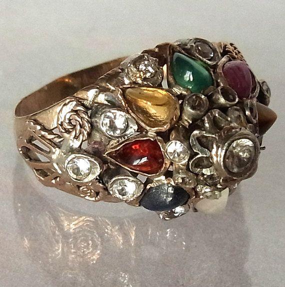 Thai Princess Ring Bohemia Jewelry Ancient Jewelry Thai Princess