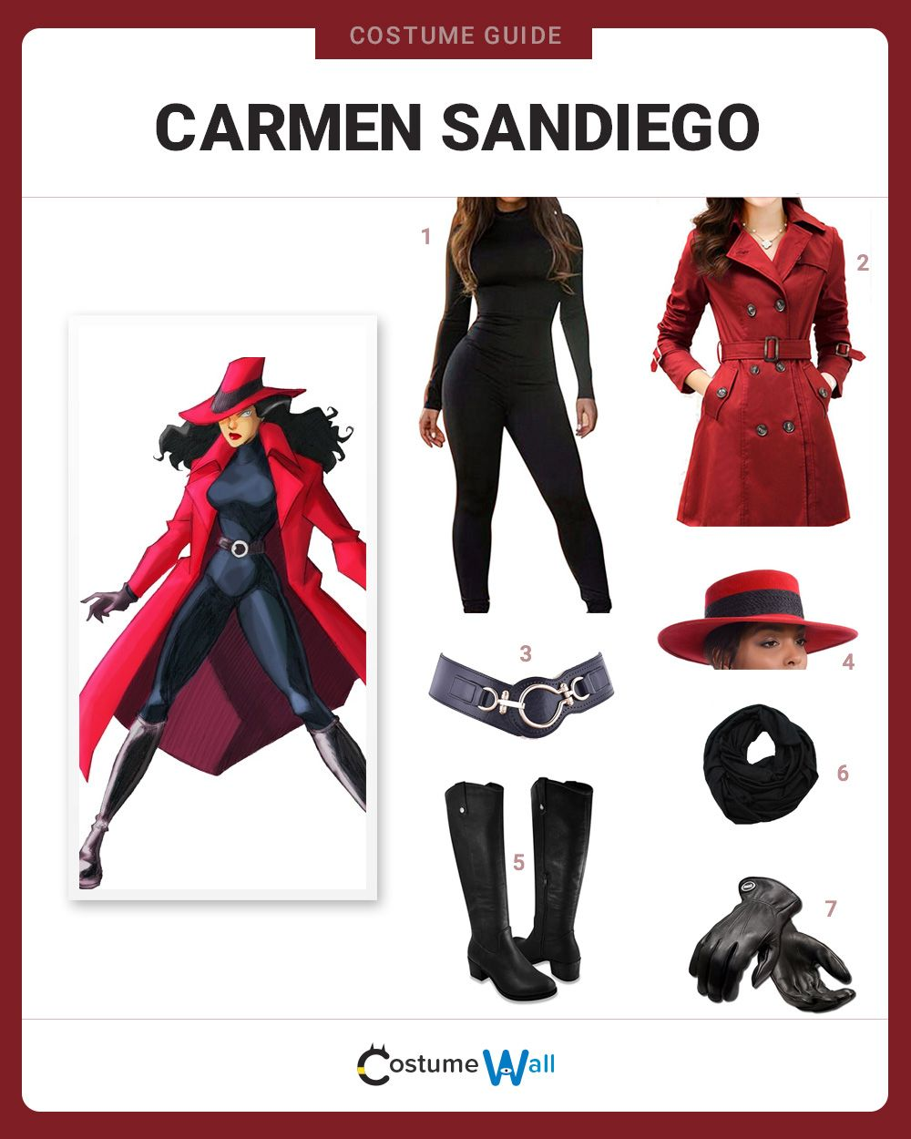 Dress Like Carmen Sandiego Costume And Cosplay Guides