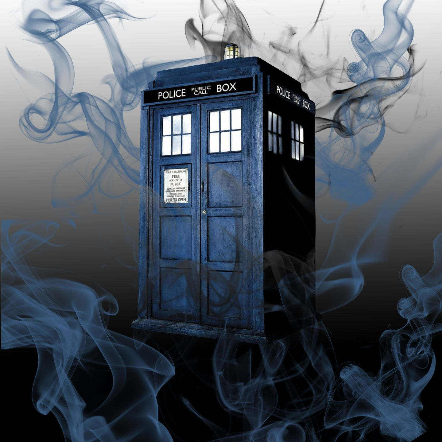 Doctor Who abstract art by omlpatches.com