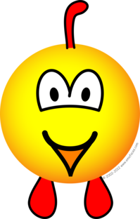 Chicken emoticon | Emoticons | Emoticon, Smiley, Emoji