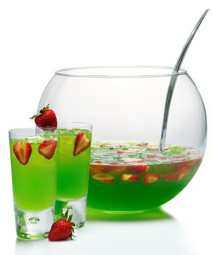 Midori Berry Bliss Vodka Punch