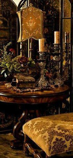 Old World Grandeur Ethnic Cottage Tuscan Decorating