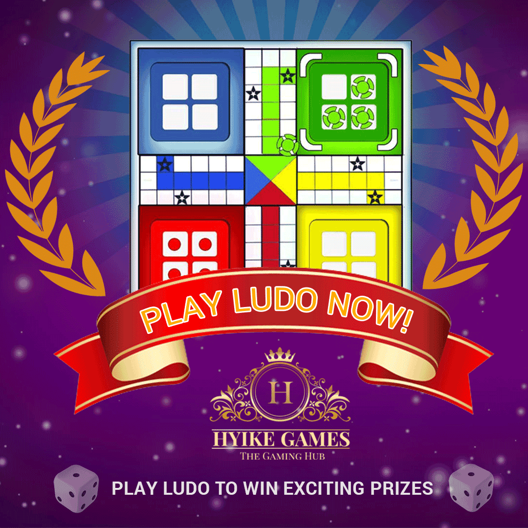 Games increase your concentration. Start playing Ludo now