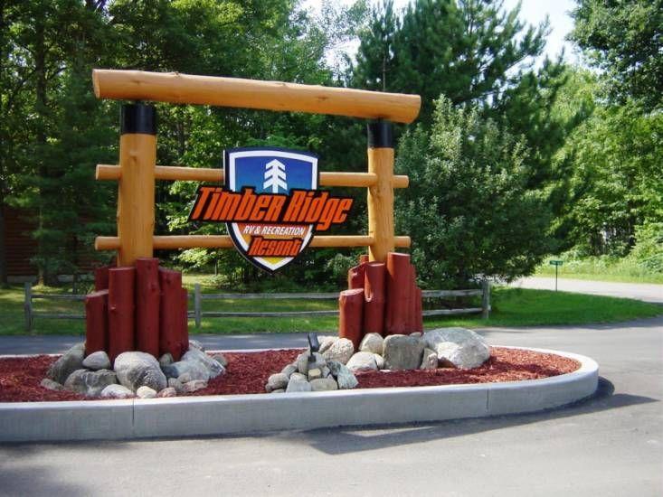 Timber Ridge Rv Recreation Resort 4050 Hammond Rd Traverse City Mi 49696 Camping Resort Traverse City Camping Equipment Rental