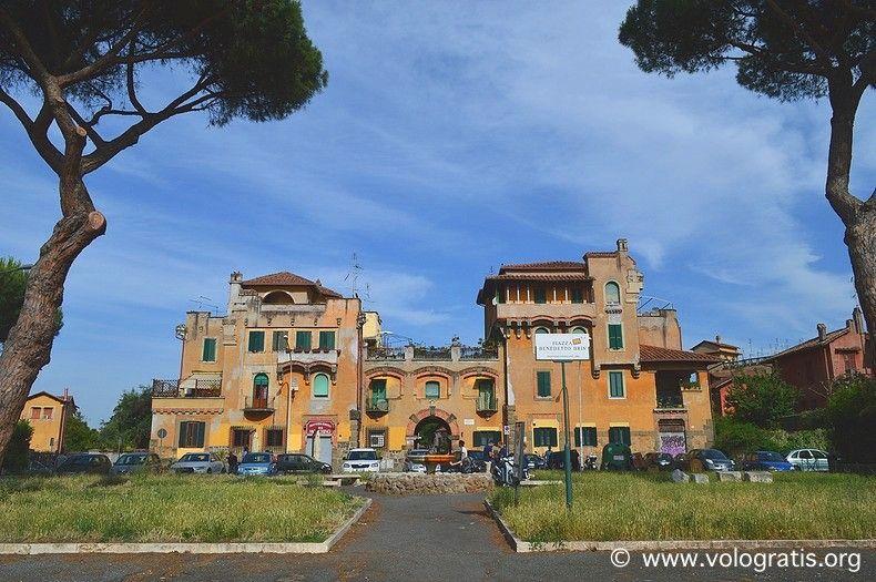 Garbatella a #Roma: storia, itinerario e curiosità  #viaggi #viaggiare