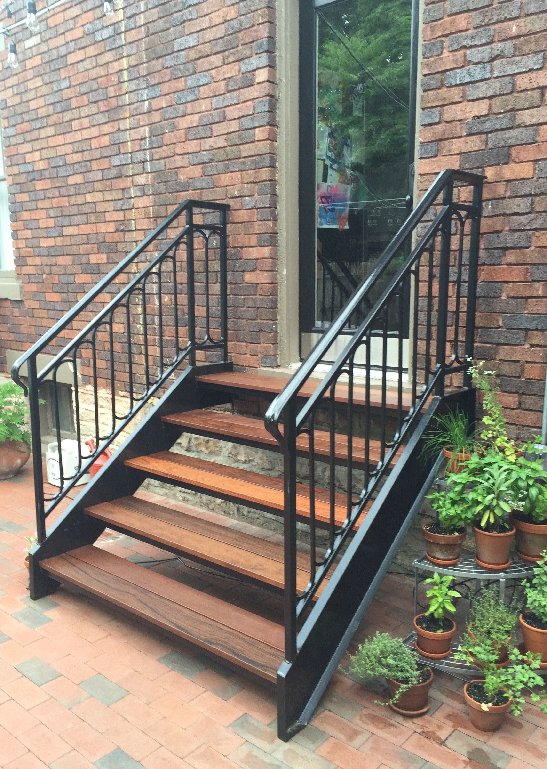 Outdoor Stair Railing Ideas Outdoor Stair Railing Railings Outdoor Staircase Outdoor