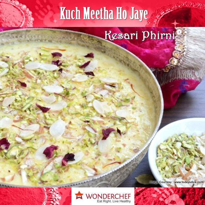 Kesari phirni a popular north indian delicious dessert a kesari phirni a popular north indian delicious dessert a perfect blend of rice and milk by chef sanjeev kapoor forumfinder Images
