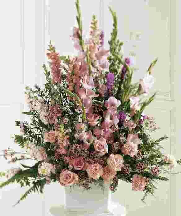 Church Altar Arrangements Wedding Flowers Gladiolas: Flower Arrangements With Gladiolus