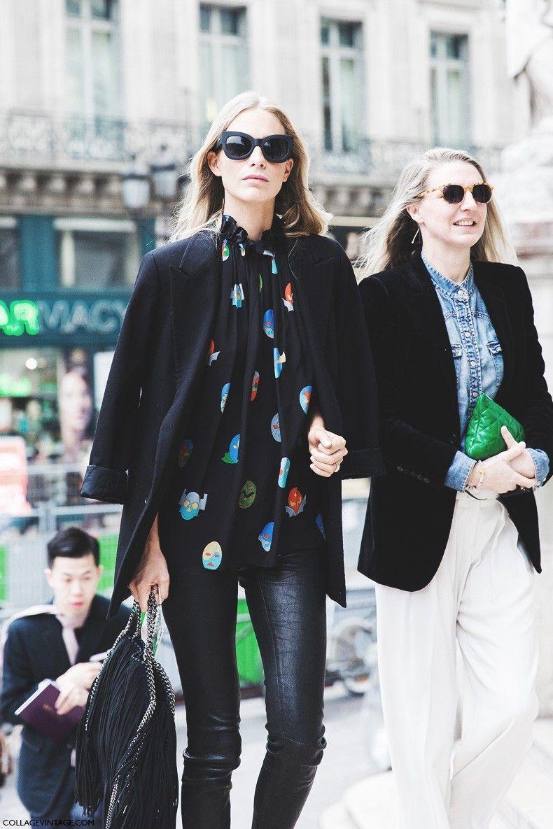 Paris Fashion Week FW 2015 Street Style: Stella Lucia