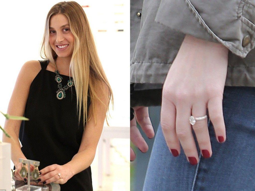 Whitney Port's Rose Gold Engagement Ring