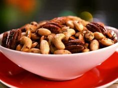 Sweet, Spicy and Salty Candied Nut Mix