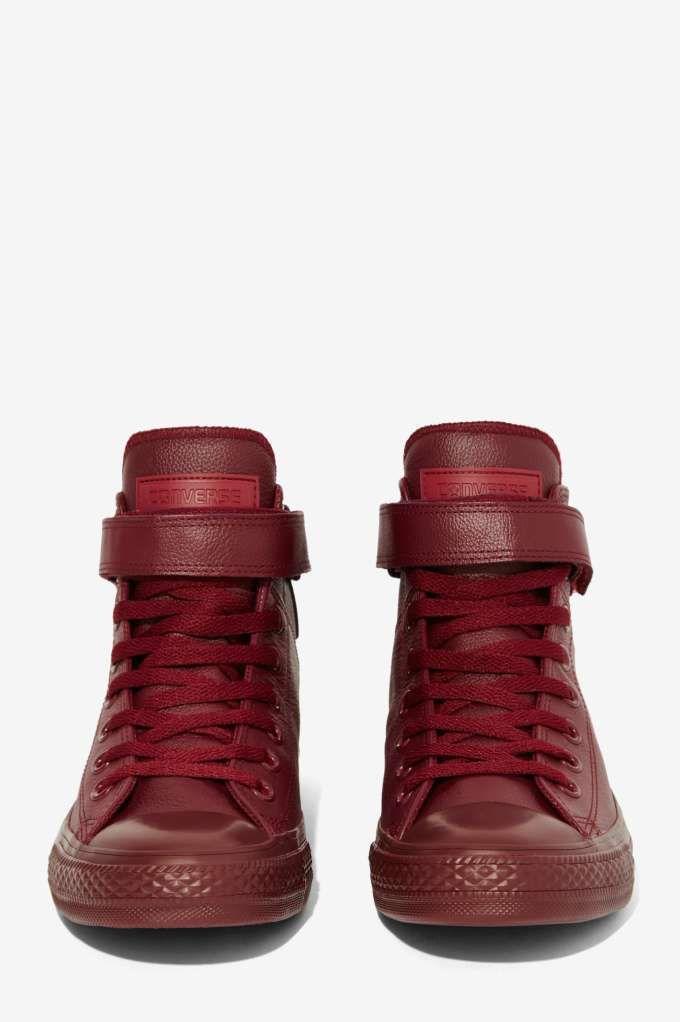 c3d1262f4fd4 Converse Chuck Taylor Brea Leather Sneaker - Burgundy - Sneakers ...