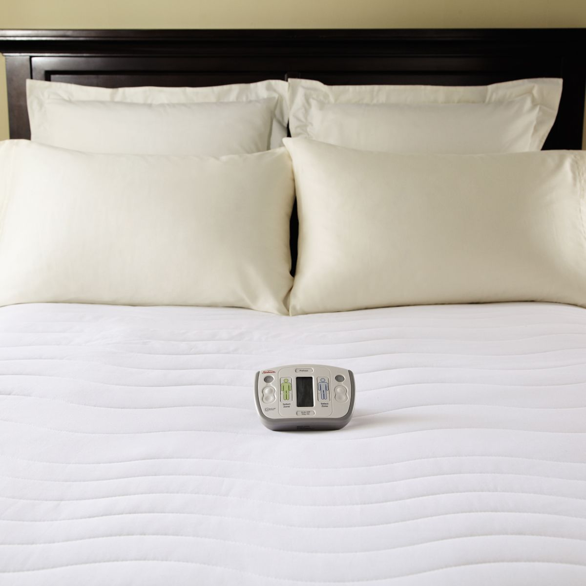 Sunbeam® Therapeutic Heated Mattress Pad; ADJUSTABLE HEAT PER BED SIDE! |  Health: Chronic Pain Relief Products, Exercises, Etc. | Pinterest | Beds,  King and ...