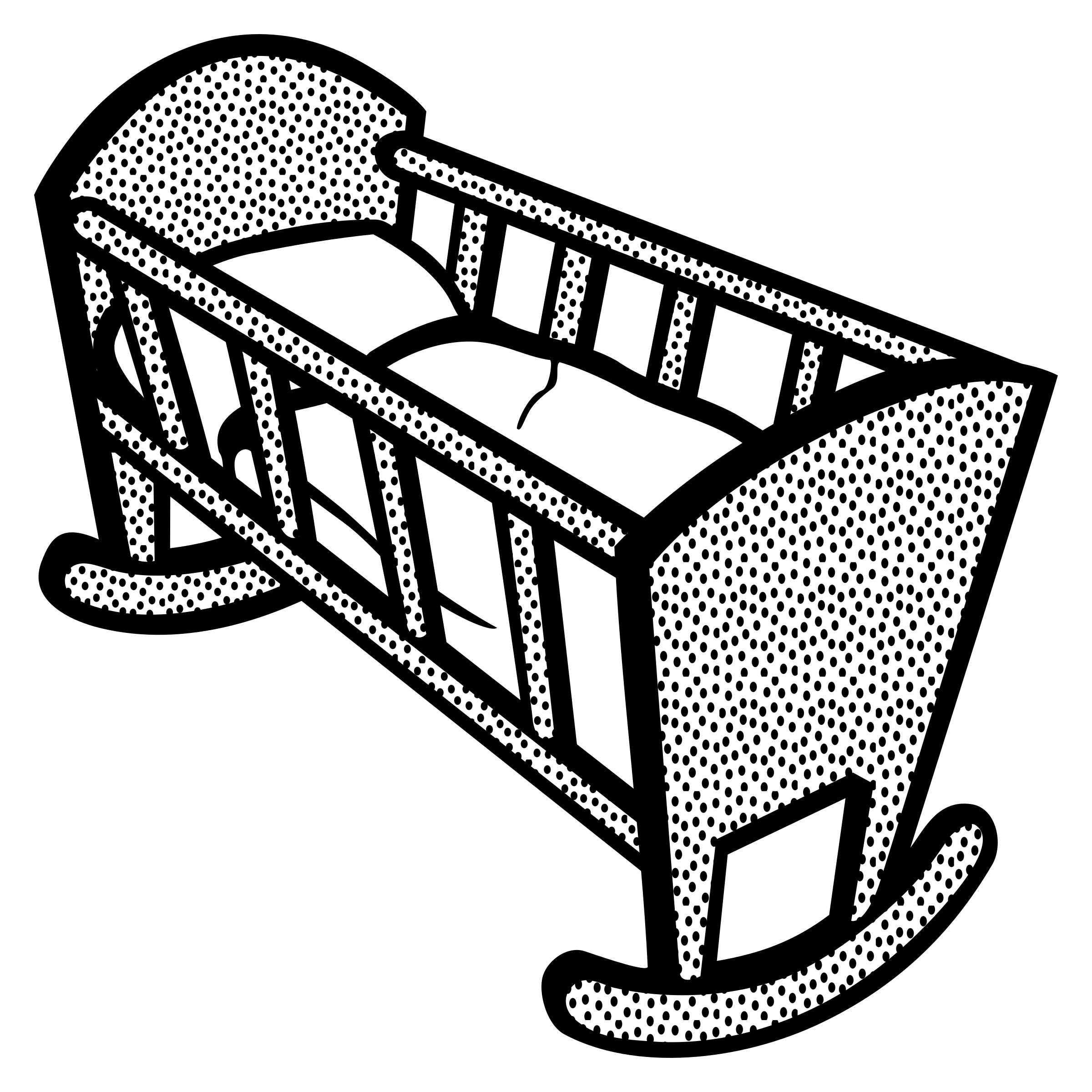Baby Cradle Clipart Free Baby Cradle Clipart
