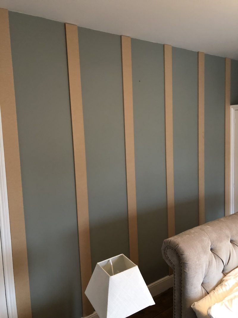 Half Wall Wood Paneling: Easy Way To Create Wood Paneling