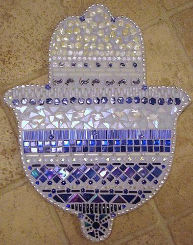 The Hamsa Hand Mosaic