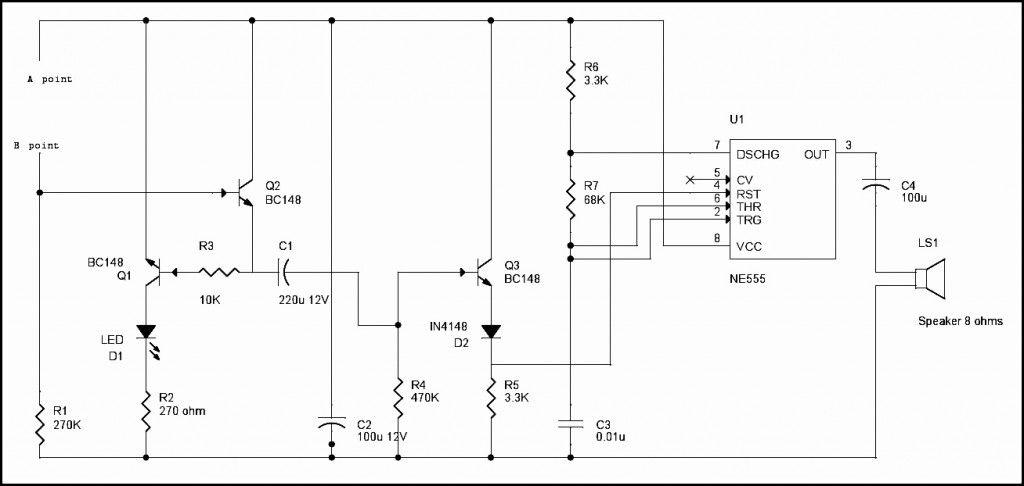 Rain Alarm Project | Circuits, Rain and Electronics projects