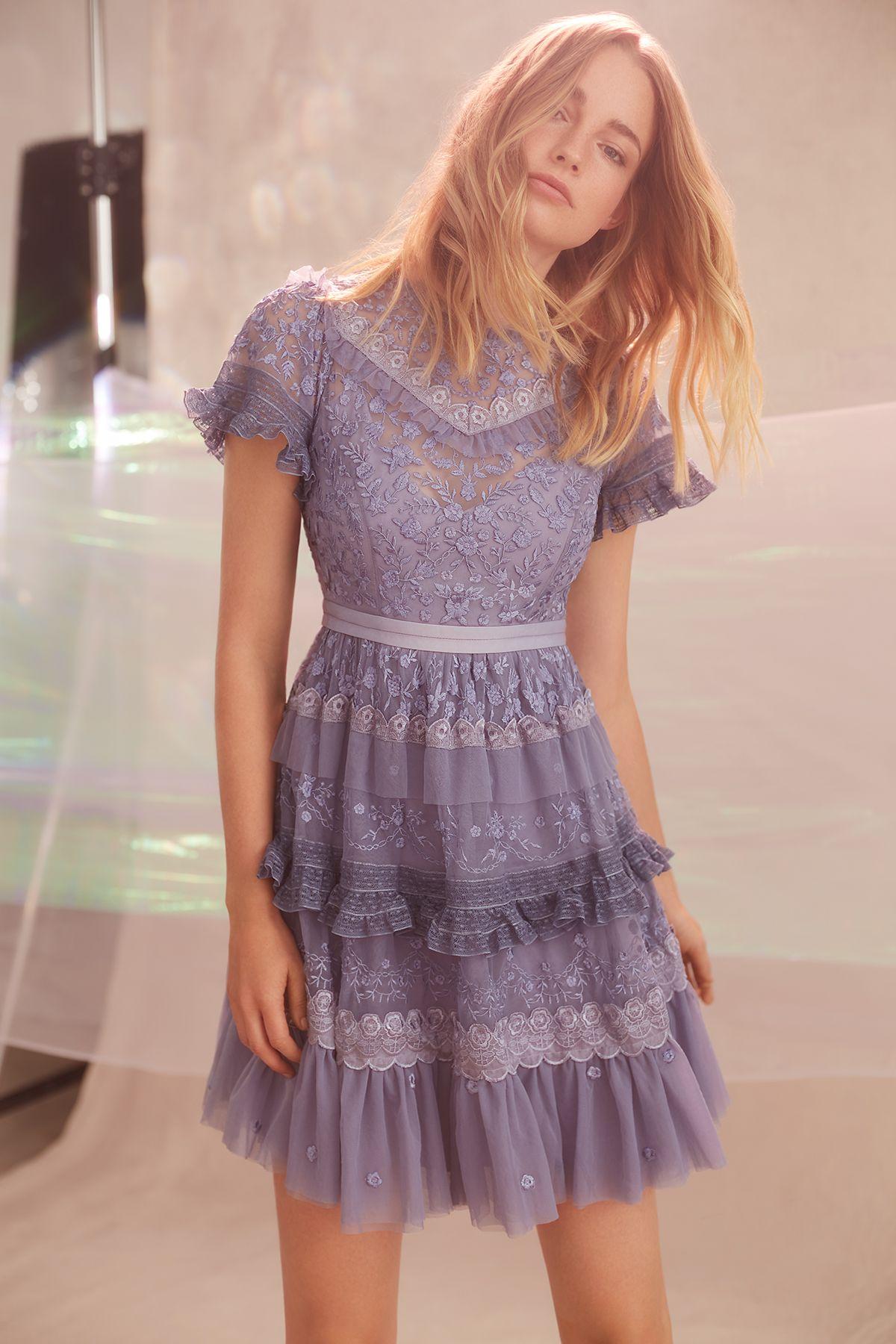 Needle & Thread dress   Одежда   Pinterest   Vestidos de día, Estilo ...