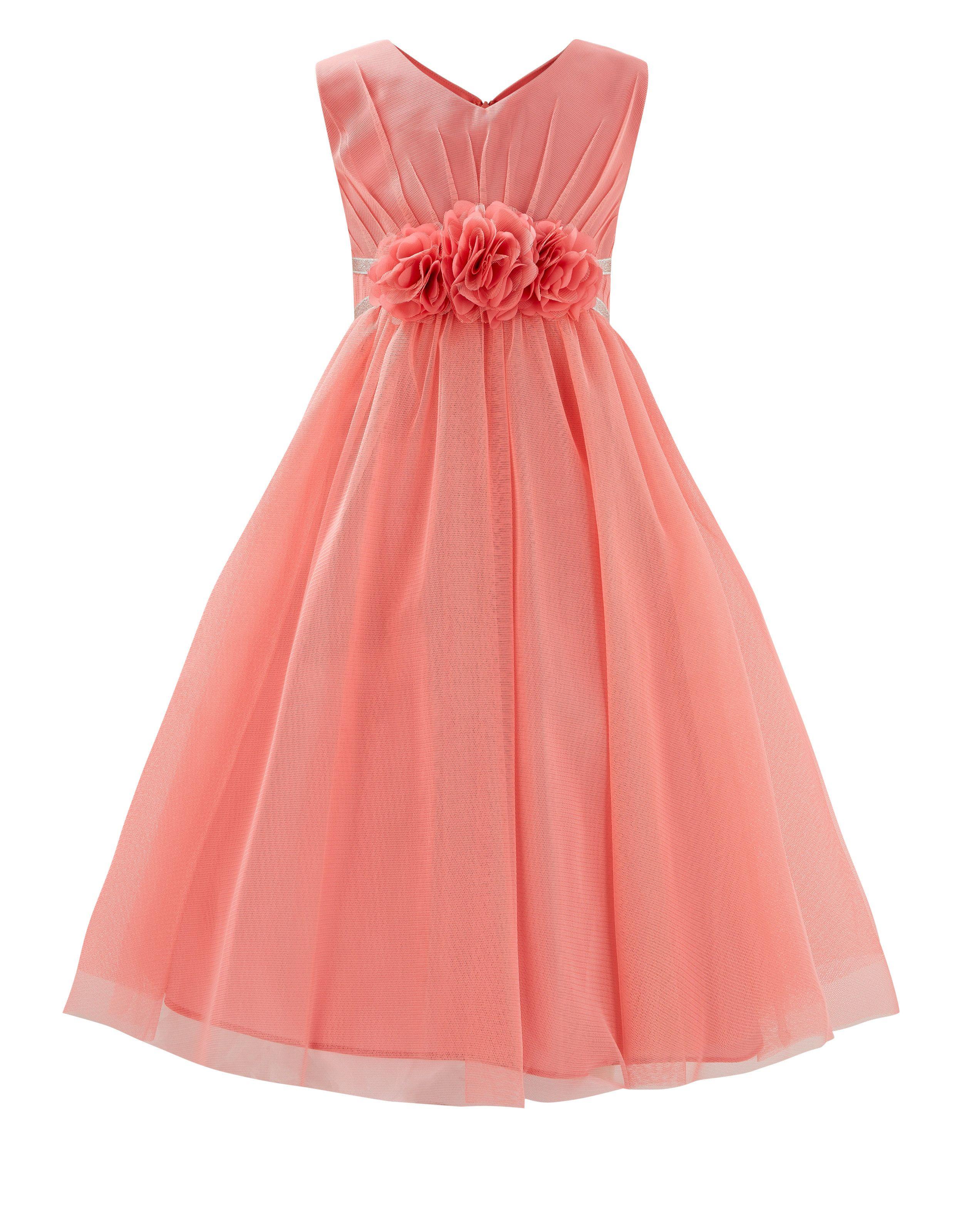 Платье Sibbe Corsage | Розовый | Monsoon | Children\'s fashion for ...
