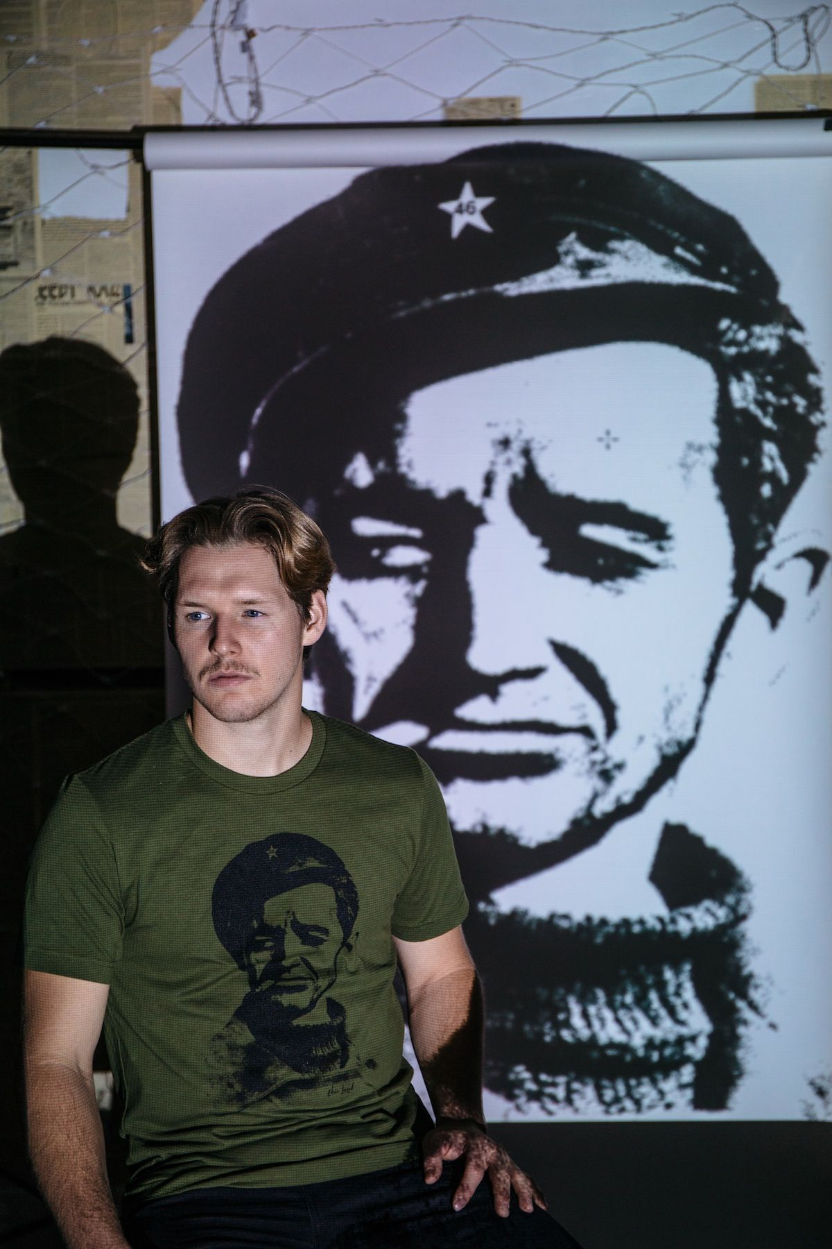 6495859aef Our newest Woody Guthrie shirt is inspired by the iconic portrait of Che  Guevara taken by Alberto Kordo in 1960