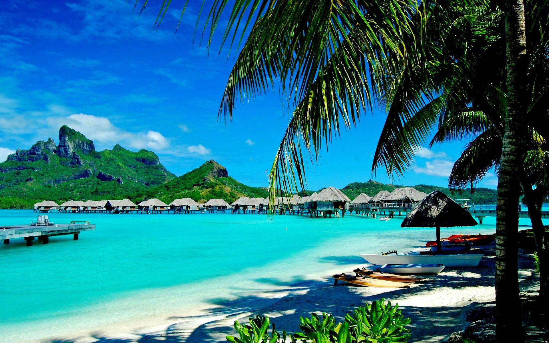 Bora Bora Island In Tahiti, French Polynesia