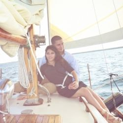 A Sailboat Engagement Session