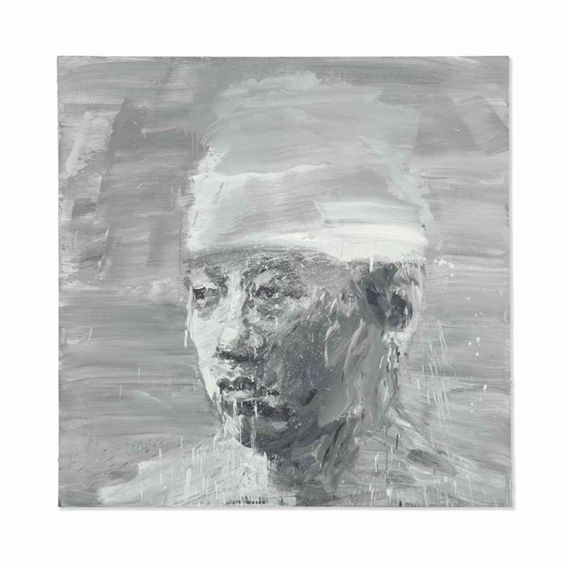 Yan Pei Ming, Selfportrait