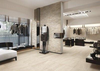 Piastrelle per pavimenti di negozi uffici e spazi commerciali o