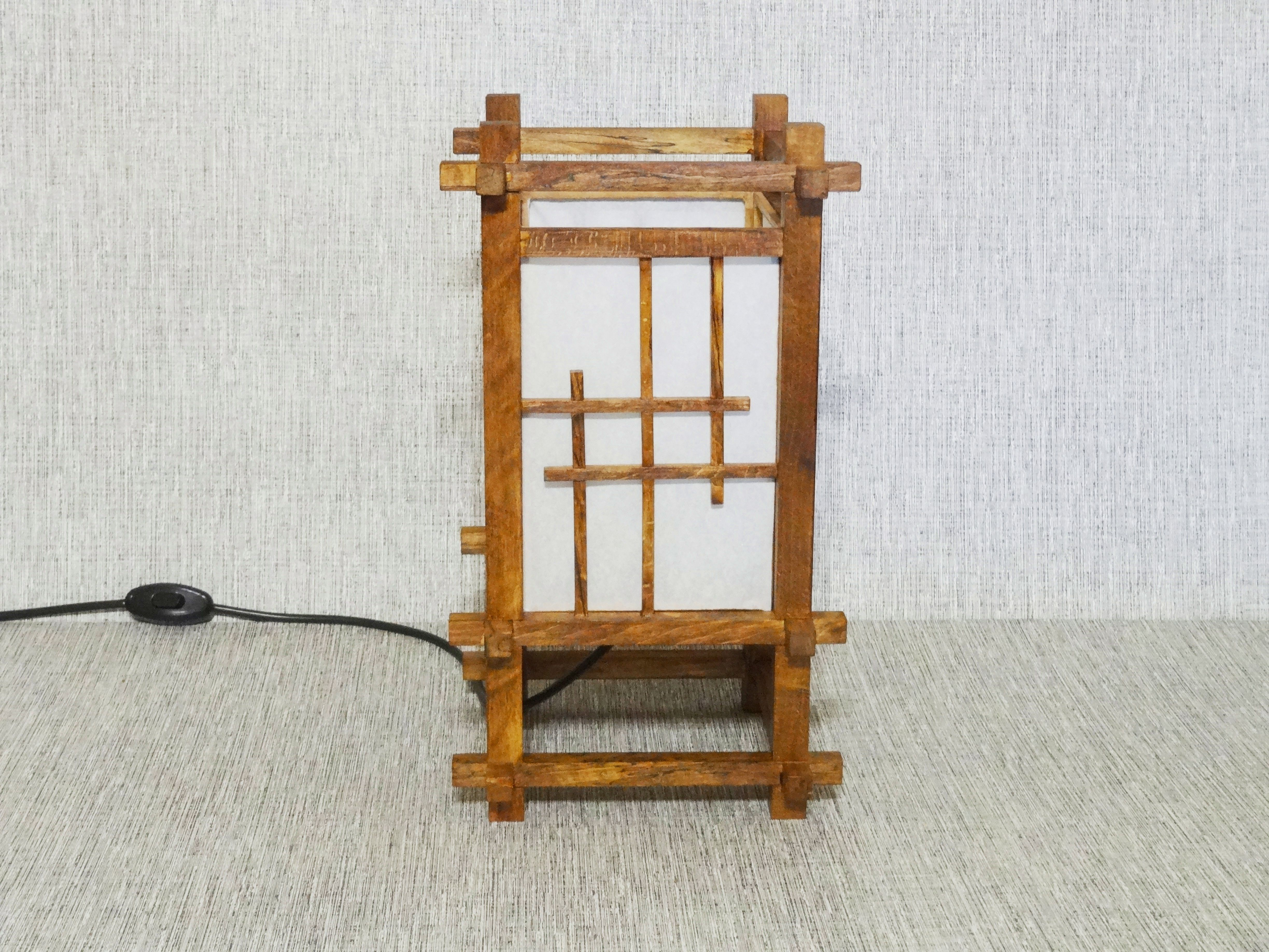 Japanese Lamp From Rice Paper Japanese Table Lamp Japanese Lamps Japanese Table Unusual Lamps