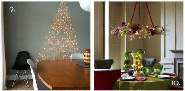 weihnachten dekoration selbst machen led lichter | weihnachten, Best garten ideen