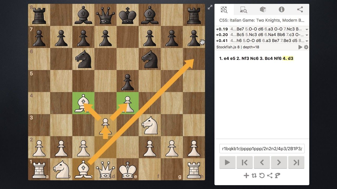 Chess Italian Game Lesson 1 Opening Theory and Basic