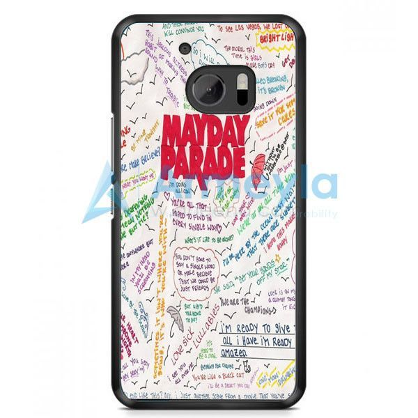 Mayday Parade Collage Watercolor HTC One M10 Case | armeyla.com