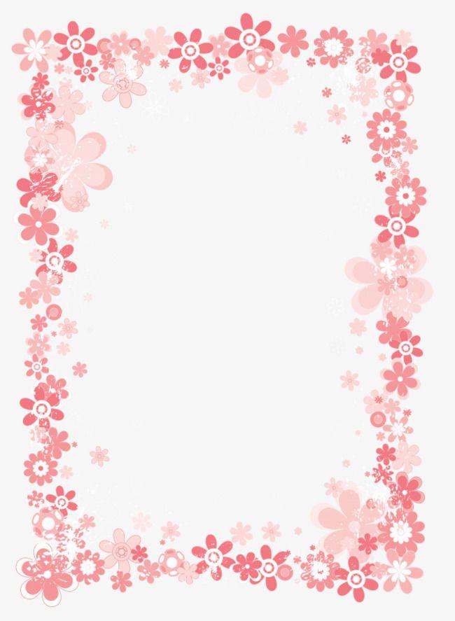 cartoon padr u00e3o de cor de rosa   fotografia  moldura