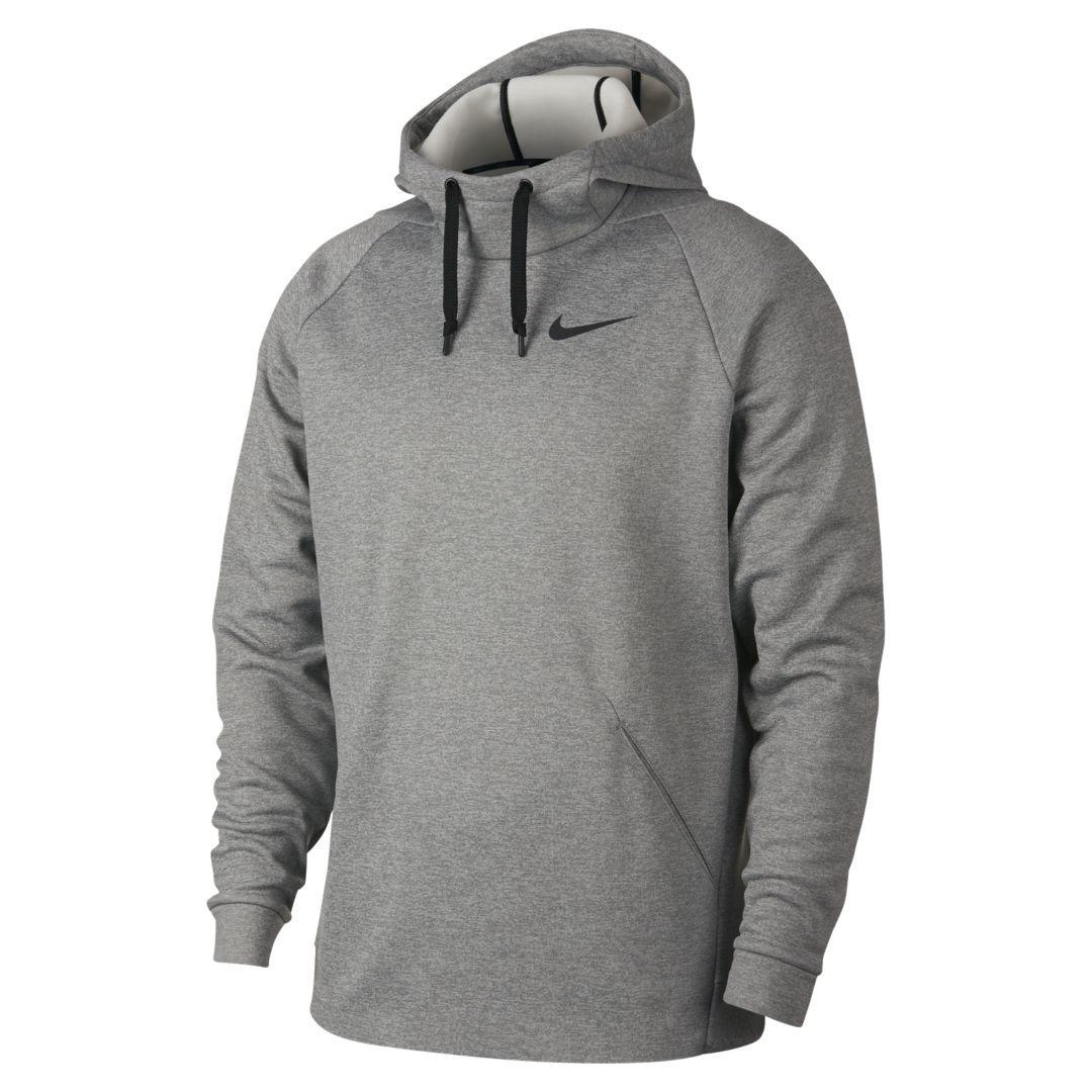 Nike Therma Men S Pullover Training Hoodie Size S Dark Grey Heather Pullover Men Hoodies Nike Therma Fit Hoodie [ 1080 x 1080 Pixel ]