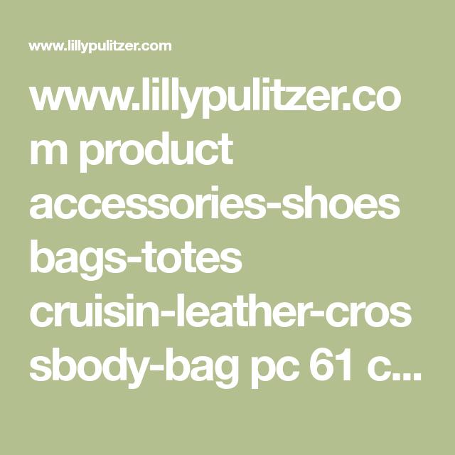 Cruisin Leather Crossbody Bag  7cf40c0ad1730