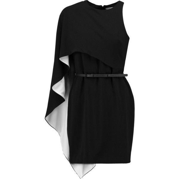 Black short dresses polyvore